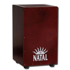 Кахон экстра-большой Natal Drums Cajon Extra Large Black With Dark Red Panel| MySound.com.ua